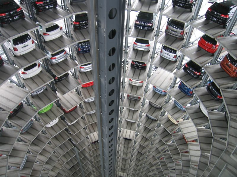 Many cars