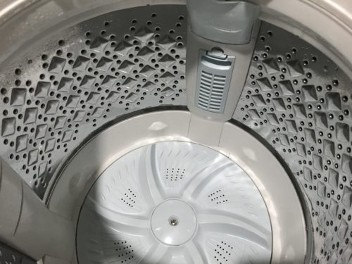 washing-tub-immediately-after-cleaning